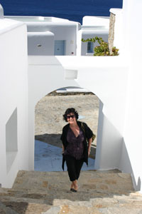 Wendy Johnson Greece Mykonos